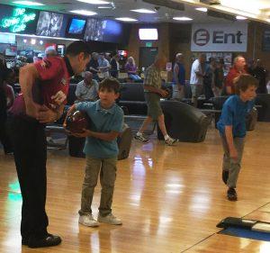 Bowling Clinic-Maldonado-&-young-student-BowlingClinic-June17-2016