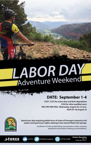 Multi day trips 21 fss peterson air force base 21st for Labor day weekend trips